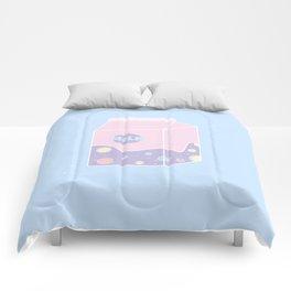 Teenager - Illustration Comforters