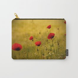 Poppy-field Poppies Flowers Flower Carry-All Pouch