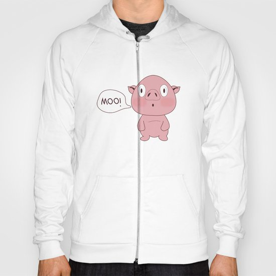 SOLD!! Confused Pig Hoody