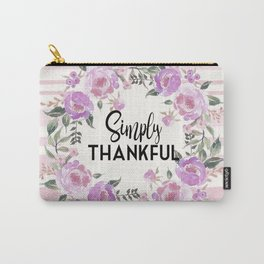 Simply Thankful Carry-All Pouch