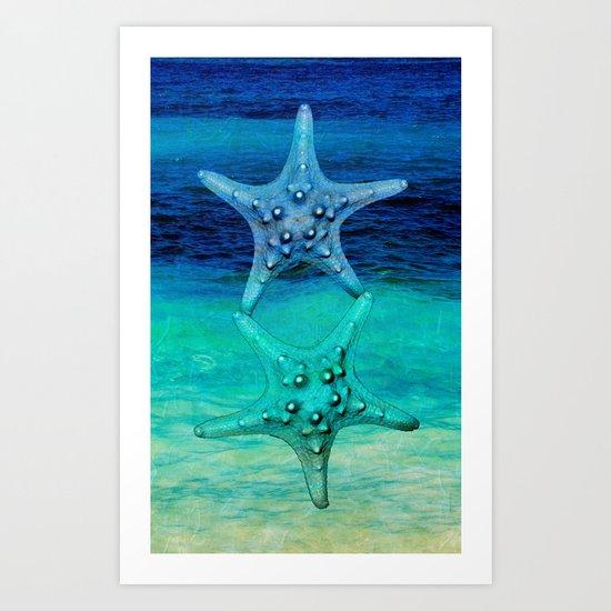 STARS OF THE SEA Art Print