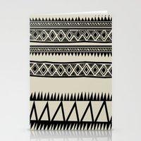 zebra Stationery Cards featuring MALOU ZEBRA by Aztec