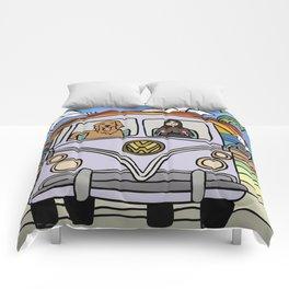 Golden Retriever Beach Comforters