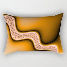 hot Stream Rectangular Pillow