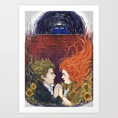 Together or not at all Art Print
