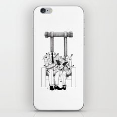 Love (one hand to caress and the other one to hurt) iPhone & iPod Skin