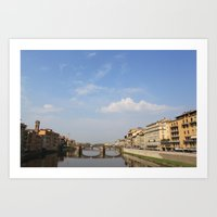 italy Art Prints featuring Italy by karleegerrand