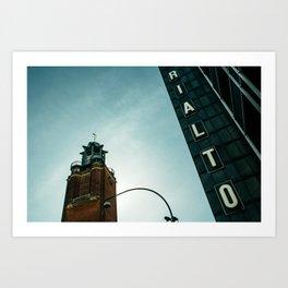 Rialto day Art Print