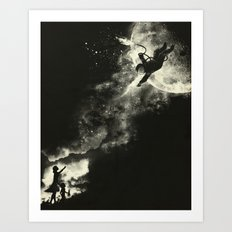Tell my wife I love her very much, she knows  Art Print