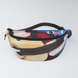 "Violeta Parra - ""Black wedding"" Fanny Pack"