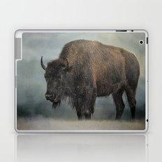 Stormy Day - Buffalo - Wildlife Laptop & iPad Skin