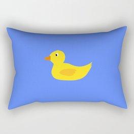 Cute yellow duck Rectangular Pillow
