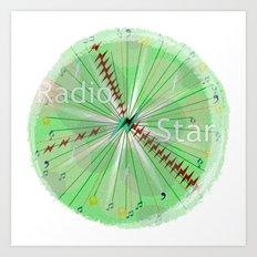 Radio Star Art Print