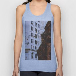 New York City Buildings and Lights (Color) Unisex Tank Top