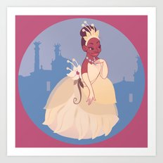 The Princess of the Frogs Art Print