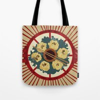 food Tote Bags featuring Food by Tonz