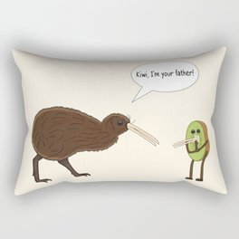 Kiwi, I'm your father Rectangular Pillow