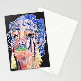 The Blue Queen Stationery Cards