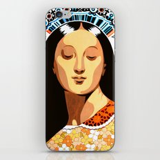 Santa Pagana iPhone & iPod Skin