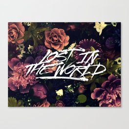 Lost in the world Canvas Print