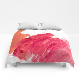 brush strokes 11 Comforters