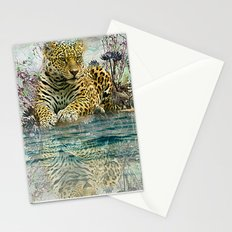 Lingering Leopard Stationery Cards
