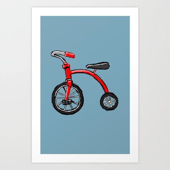 Two Wheel Art Print