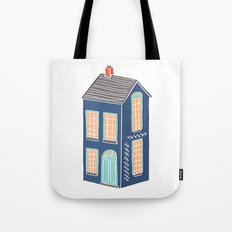 Little Townhouse Tote Bag