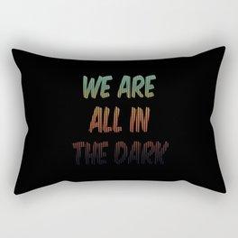 The Dark Rectangular Pillow