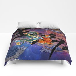 Koi and Dragon Comforters
