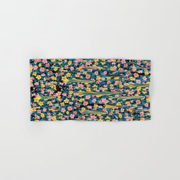 MELTED FLOWERS Hand & Bath Towel