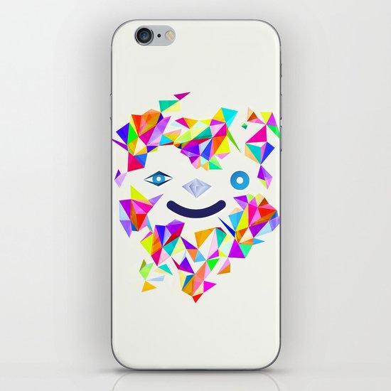 Chromatic character  iPhone & iPod Skin