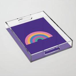 Rainbow Acrylic Tray