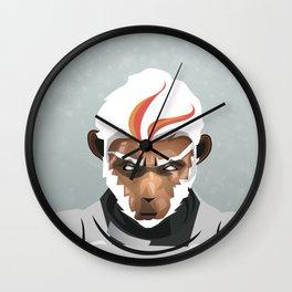 White Monkey King Wall Clock