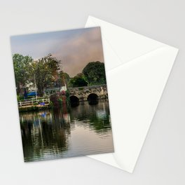 Above The Bridge In Abingdon Stationery Cards