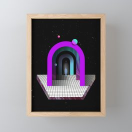 DE-ELEVATOR — Framed Mini Art Print