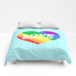 Self Acceptance Comforters