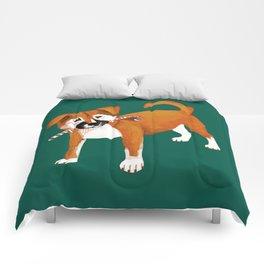 Puppy Chritsmas Comforters