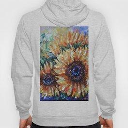 Ah, Sunflower by Lena Owens Hoody