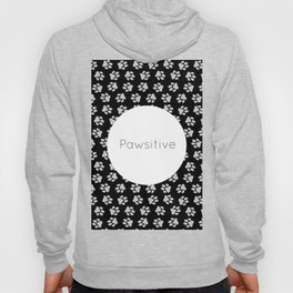 Pawsitive Paws - dog lover animals pattern Hoody