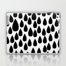 Black drops Laptop & iPad Skin