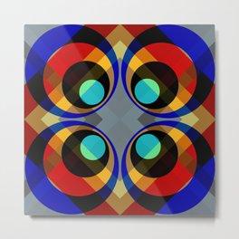 Kanyuheme - Colorful Abstract Art Metal Print
