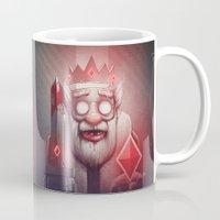 king Mugs featuring King of Doom by Dr. Lukas Brezak