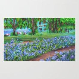 Monet's Garden AC20110715a Rug
