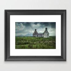 The Abandoned House Framed Art Print