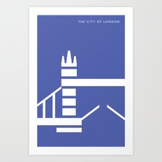 Iconic London: Tower Bridge Art Print