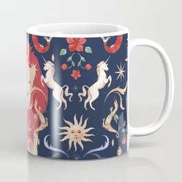 The Medieval Menagerie  Coffee Mug
