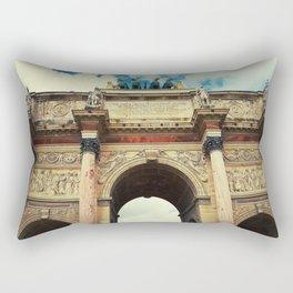 Arc de Triomphe du Carrousel Rectangular Pillow