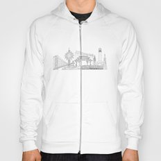 San Francisco by the Downtown Doodler Hoody