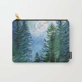Silent Forest Carry-All Pouch